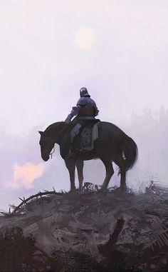 Hedge Knight by Ville Sinkkonen