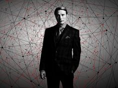 All the dots connect to him. Nbc Hannibal, Hannibal Lecter, Hannibal Tattoo, Hannibal Wallpaper, Albert Wesker, Mads Mikkelsen, Photo Cards, Fictional Characters, Red Dragon