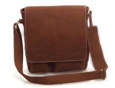 """ipad bag 10"""" Brown/ Leather Messenger Bag /Inch Handmade Soft Leather Mens Satchel Shoulder Handbags/Bags Pouch/Case For him or her on Etsy, $89.00"""