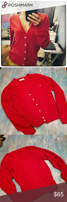 CHRISTIAN DIOR Vintage Boyfriend Sweater excellent condition, authentic Christian Dior Sweaters Cardigans