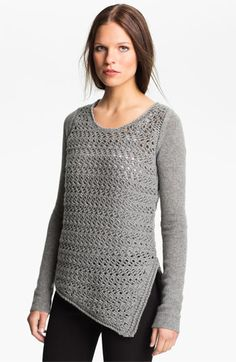 Helmut Lang Wool & Cashmere Pullover Sweater available at #Nordstrom