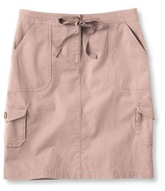 #LLBean: Southport Cargo Skirt in Pink Beige. A nice ashy pink for my soft summer palette.  I wanted a color I could wear with my jean jacket AND a black or grey sweater.  should be a nice neutral but sweet color.