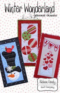 Ribbon Candy Quilt Company: Seasonal Skinnies Patterns