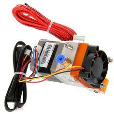 Geeetech MK8 3D Printer Extruder 0.3mm Nozzle/1.75mm Filament - Silver