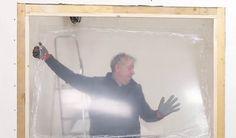 Tutoriel pour fabriquer une verrière en bois pas chère et design - 18h39.fr Bathtub, How To Plan, Bathroom, Decoration, Design, Home Decor, Lounges, Living Room Canopy, Standing Bath