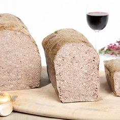 Pate de Campagn- A classically prepared coarse pâté made of ground pork, onions, garlic and spices. Best served on a traditional French baguette, Tuscan bread, rustic bread.