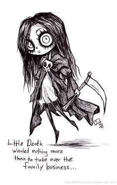 Little Death by Lithium-Tears.deviantart.com on @deviantART