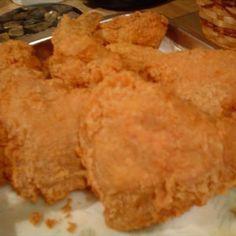 Popeyes Fried Chicken Copycat