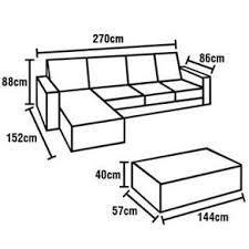 Resultado de imagen para medidas de sofá