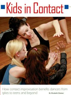 Contact Improvisation can be done by any age group. it promotes self exploration in a social setting, creates friendships, and encourages cultural exchange.