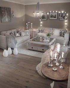 42 secret weapon for modern house design interior living rooms decorating ideas 6 - Home Interior Design - Glam Living Room, Living Room Decor Cozy, Elegant Living Room, Interior Design Living Room, Decor Room, Living Room With Grey Walls, Wall Decor, Neutral Living Rooms, Living Room Decorating Ideas