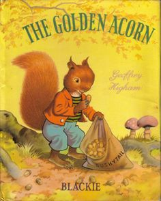 Vintage Children's Book The Golden Acorn by sweetpeaspantry, $2.00