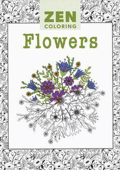 Zen para colorear: Flores
