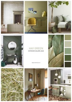 Home decor trends 2020 – the key looks to update interiors Living Room Green, New Living Room, Home And Living, Cosy Room, Home Design Diy, Bedroom Wall Colors, Green Interior Design, Home Decor Trends, Decoration