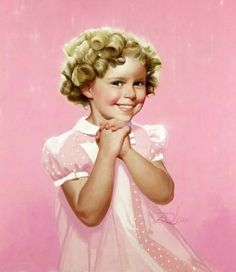 Shirley Temple by Donald Zolan