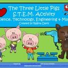 $ - S.T.E.M. activities may seem daunting when teaching young children. This is a STEM activity that I created to go with the folk tale, The Three Litt...