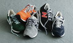 I love New Balance!  I so want the orange ones!