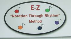 The E-Z Notation Through Rhythm Methods, and books are found on our website:  ezmusicnotation.com  The purpose is to establish a consistent music color code, well thought out using the 8 colors in a school crayon box.  Teachers are using colored music scores, but there is no common code as there is in numbers and the alphabet.  Help to standardize the color code that introduces music symbols, tunes, composing, while aiding listening, writing and reading.    See: ezmusicnotation.com