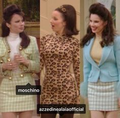 """Fran Drescher as Fran Fine in """"The Nanny"""" which won a Primetime Emmy for Outstanding Individual Achievement in Costuming for a Series in 1995 70s Inspired Fashion, Retro Fashion, Vintage Fashion, Nana Fine, Fran Fine Outfits, 2000s Fashion, Fashion Outfits, Nanny Outfit, Fran Drescher"""