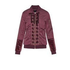 3d86238ec91b A bomber jacket is a classic. A bomber jacket with military-regalia  inspired lace