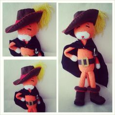 Amineko con botas #amigurumi #amineko #crochet #handmade | Flickr - Photo Sharing!
