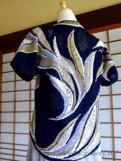 Фриформ спицами японской мастерицы Yoko Asada. Часть 2.