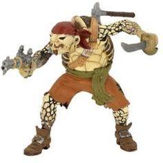 Papo Figure - Turtle Mutant Pirate