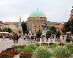Pécs Budapest Hungary, Czech Republic, Austria, Poland, Places To See, Taj Mahal, Cities, Beautiful Places, Landscapes