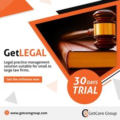 GetLEGAL software enables small to large law firms to manage clients, records, timesheets and more. It helps create contracts, manage framework agreements and store original documents in a centralized location. GET THE SOFTWARE NOW ( 30 DAYS TRIAL*)   #GGL #attorney #lawfirm #Legal #legalfirm #management #innovation #technology #software #tanzania Tanzania, Trials, Innovation, Law, Software, Management, Technology, Store, Create