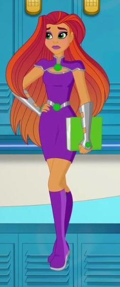 DC Super Hero Girls Starfire