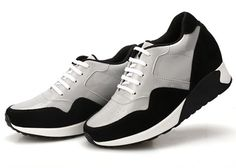 Look Taller 8CM/3.15 Inch Recreational Sports Elevator Shoes For Women