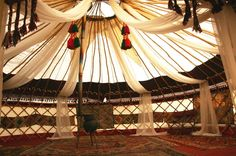 Middle Eastern Wedding Yurt - Tent