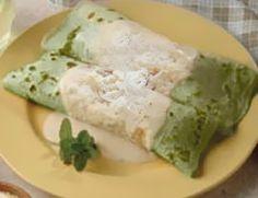 Panqueca de espinafre diet