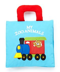 Look at this 'My Zoo Animals' Plush Book on #zulily today!
