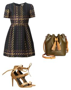 """Fall Work Outfit"" by jessicasanderstx ❤ liked on Polyvore featuring P.A.R.O.S.H., TIBI and Dooney & Bourke"