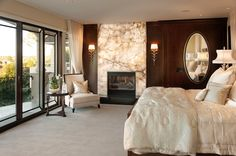 Robeson Design Bedroom Hamptons Inspired Luxury Home Master Bedroom Robeson Design