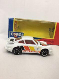 CORGI PORSCHE 911 Carrera DIECAST TOY MODEL CAR New In Box 94310 Vtg  | eBay
