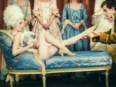 """Find the latest shows, biography, and artworks for sale by Tyler Shields. Los Angeles-based photographer Tyler Shields seeks """"beauty in chaos,"""" capturing bot… The Queen Of Versailles, Tyler Shields, Young Models, Hollywood Celebrities, Marie Antoinette, Fashion Photography, Artsy, Celebs, Glamour"""