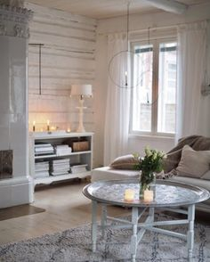 My little silverlinings Living Spaces, Furniture Design, Sweet Home, Dining Table, Cottage, Cozy, House, Inspiration, Scandinavian