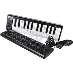 Akai LPD8 USB-Midi Drum Sample Pad & LPK25 Recording Studio Keyboard Controller from Electromarket.co.uk