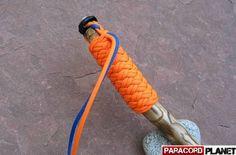 Paracord Walking Stick Handle Wrap.: