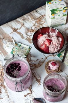Calming Raw Buckwheat Porridge and Strawberry Sorbet | Green Spirit Adventures