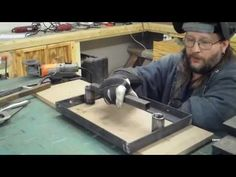 home made chainsaw mill build - YouTube