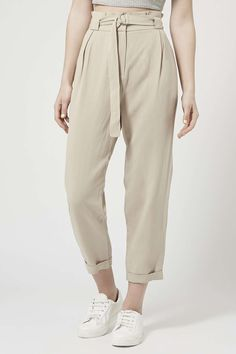 Photo 3 of D-Ring Belted Tapered Trousers
