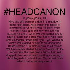 Headcanon {My edit give credit} - I'm sorry it has been like 2 months I know I suck  - okay so this is another random #Headcanon I thought of! If you repost please give credit  - All of myheadcanons are here ➡️ #Percypostsheadcanons please don't uses this hashtag - #Percy #PercyJackson #PJATO #pjo #headcanons #fanfic #fandom