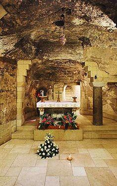 Igreja da Anunciação em Nazaré em Israel.
