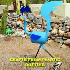 Crafts from plastic bottles 19