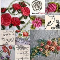 If you love embroidery, you won't miss this DIY embroidery technique, the flowers are a creative extension of french knot that looks pretty whether you use thread or yarn. They are great for handmade bedding, garment, curtains and more. You may love these, tooDIY Basic Crochet Grape PatternHow to DIY …