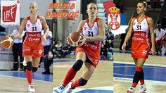 Milica Dabović 02. Lyon, Basketball Court, Sports, Tops, Hs Sports, Sport, Exercise