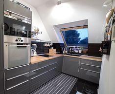 Modern tetőtéri lakás Zuglóban - Otthon - lakaskultura.hu